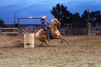 Deer Lodge 8-14-2015 Ladies Barrels
