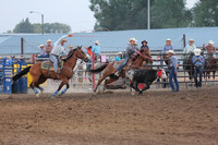 Deer Lodge 8-15-2015 Team Roping