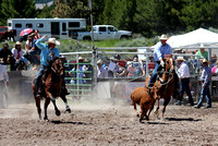Lincoln Open Rodeo Team Roping 7-6-2014