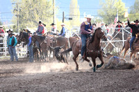 UM College Rodeo Perf Steer Wrestling May 9 2014