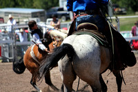 Lincoln Open Rodeo Bares & Broncs 7-6-2014