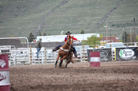 UM College Rodeo Slack Barrels May 9 2014