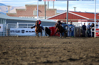 Dillon HS Steer Wrestling 9-24-2016